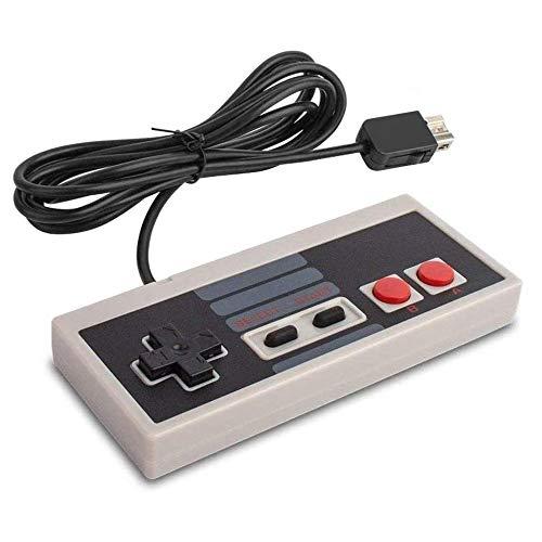 6amLifestyle Nintendo NES Classic Mini Télécommande avec câble de 1,8 m pour Nintendo NES Mini Classic Edition 2016