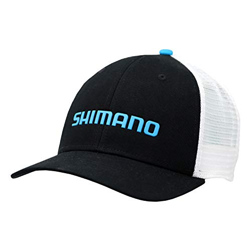 SHIMANO Trucker Style California State Cap, Black, One Size
