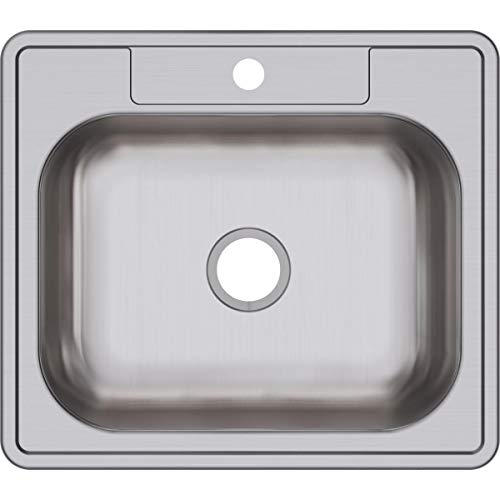Best Prices! Dayton D125221 Single Bowl Drop-in Stainless Steel Sink
