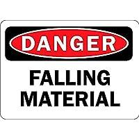 Danger Falling Material 注意看板メタル安全標識注意マー表示パネル金属板のブリキ看板情報サイントイレ公共場所駐車ペット誕生日新年クリスマスパーティーギフト