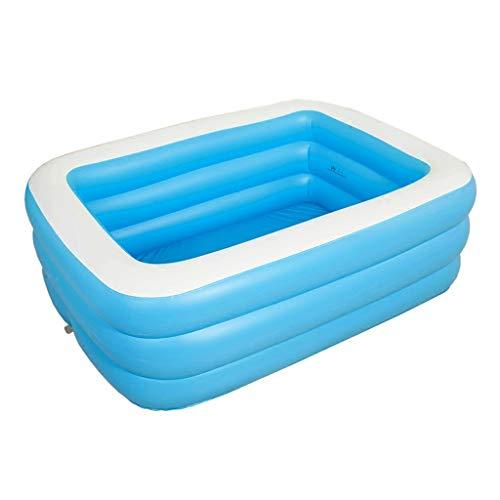 Piscina del patio trasero Bañera bañera inflable for adultos engrosamiento de la bañera inflable portátil plegable de baño plato de ducha barril cubo ducha sencilla baño de mujeres embarazadas bañera