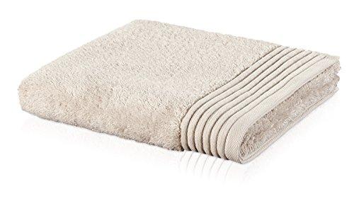 möve Loft serviette de toilette 30 x 50 cm en 100% coton (Spinair), papyrus