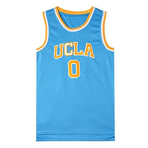 YPKL Westbrook # 0 UCLA Baloncesto Swingman Jersey, Jóvenes Icono Edición Alero Jersey, Transpirable y cómodo con Capucha (S-XXXL) XXL