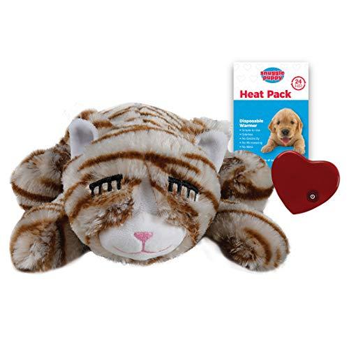 SmartPetLove Snuggle Kitty - Juguete de Ayuda al Comportamiento para Mascotas, Color marrón