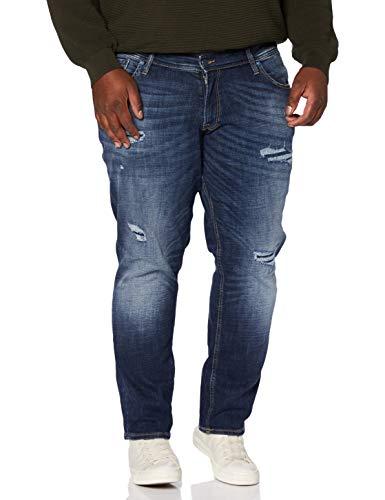 JACK & JONES Jjiglenn Jjoriginal GE 339 50SPS PS Jeans, Blu Denim, 42W x 36L Uomo