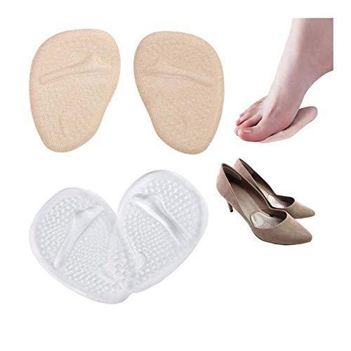 XIUYU 2 Pares Gel Plantillas ortopédicas for Zapatos