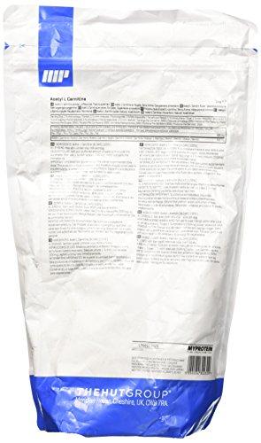 MyProtein Acetyl L Carnitine Carnitina - 250 gr - 41vrnxuzUhL