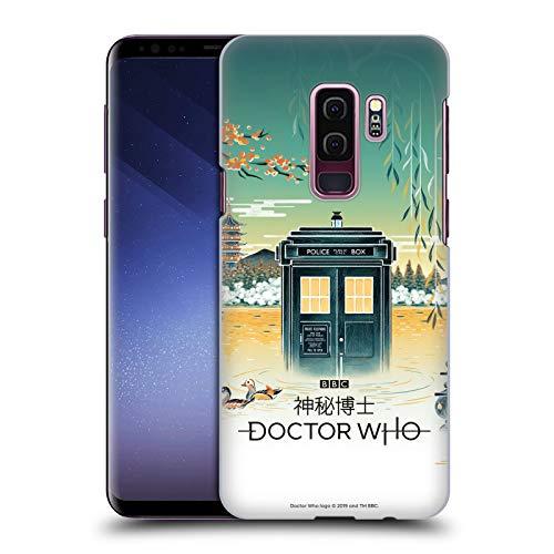 Head Case Designs sous Licence Officielle Doctor Who Hangzhou Tardis Saison 11 Asie Art Coque Dure pour l'arrière Compatible avec Samsung Galaxy S9+ / S9 Plus