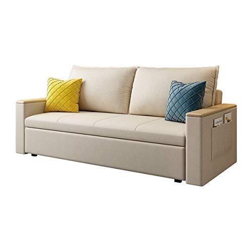 N/Z Home Equipment Sofás Plegables Cama Futón Multifuncional Loveseat Sleeper Sofá extraíble Suave y cómodo Sofá Cama Convertible Muebles para Sala de Estar Apartamento 1.25M