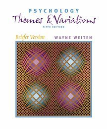 Psychology: Themes and Variations, Briefer Version (Paperbound Edition, High School/Retail Version)
