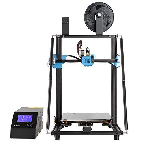 Imprimante 3D Creality CR-10 V3 avec extruder Direct Titan, L'impression n'est Pas bloquée,Carte mère silencieuse, capteur de Filament et Taille d'impression pour 300 * 300 * 400mm