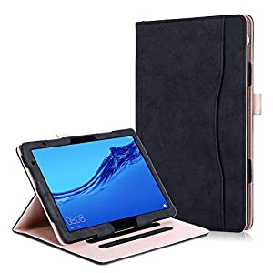 Huawei MediaPad T5 10 / M5 Lite 10 Case - Premium PU Leather Folio Stand Cover Case for Huawei MediaPad T5 10 / M5 Lite…