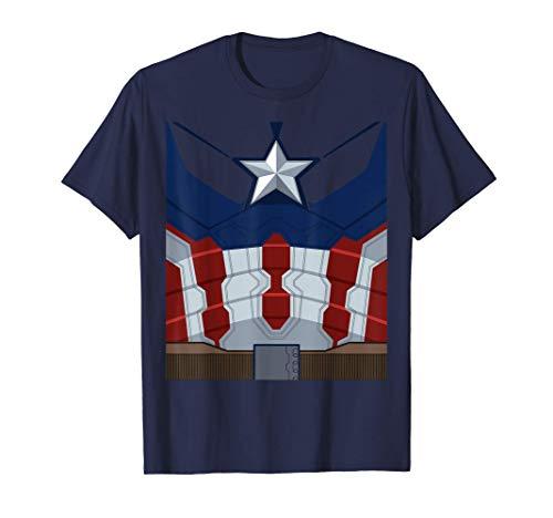 Marvel Captain America Costume T-Shirt