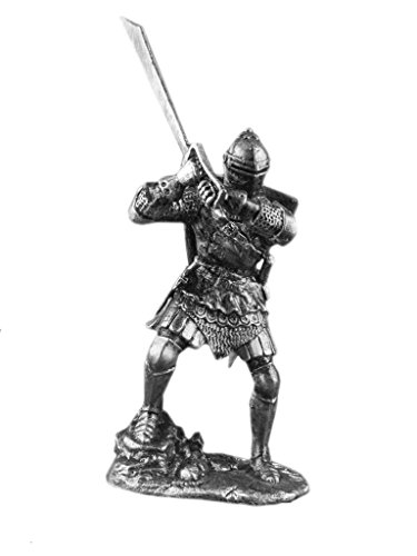 Ronin Miniatures New Medieval Warrior Knight with Grand Falchion...