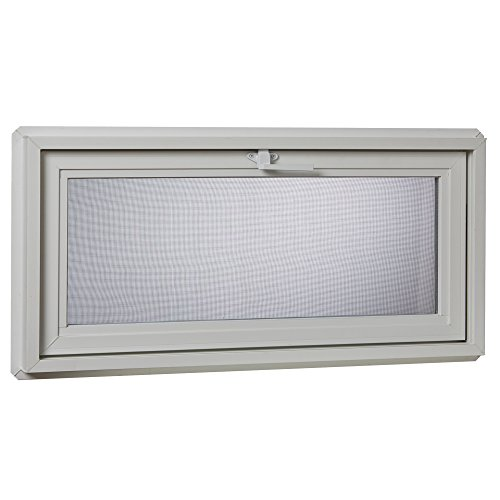 Park Ridge Products VBHI3218PR VBHI Vinyl Basement Hopper Window, 32