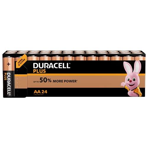 Duracell Batterie AA, confezione da 24