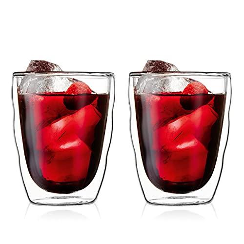 BODUM ボダム PILATUS ピラトゥス ダブルウォール グラス 350ml 2個セット 【正規品】 10485-10J