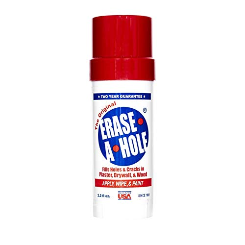 Erase-a-hole the original drywall repair putty: a quick & easy solution to fill the holes in your walls-also works on wood & plaster, 4. 5oz (1)