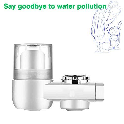 ZLXLX Waterzuiverer Waterfilter Mini-waterfilter, keramische filter filterfilter voor kraan met ultra-absorberend materiaal - geschikt voor standaard kranen