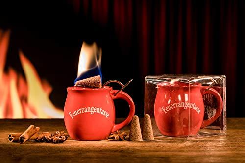 Feuerzangentasse 1er-Set, Terracotta - für Feuerzangenbowle