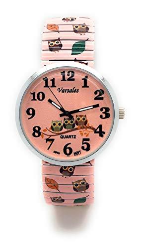 Reloj de Pulsera para Mujer con Banda elástica y Elegante