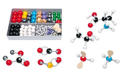 Molymod MMS-009 Inorganic/Organic Chemistry Molecular Model, Student Set (52 atom parts)