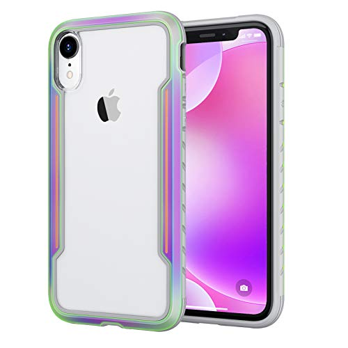 Aodh Compatible with iPhone XR Cases, Aodh Shockproof Protective Anti Scratch Cover Case Designed for iPhone XR (Iridescent)