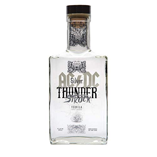 AC/DC Thunderstruck Tequila AC/DC Thunderstruck BLANCO Tequila de Agave Tequila (1 x 0.7 l)