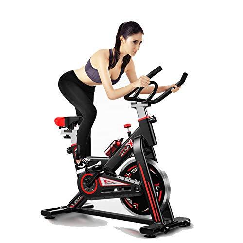 Speee Heimtrainer Fahrrad, 13 Kg Schwungrad Ergometer Hometrainer Mit Magnetwiderstandseinstellung, LCD-Anzeige, Flasche- Und Tabletshalter, Einstellbare Sitzhöhen