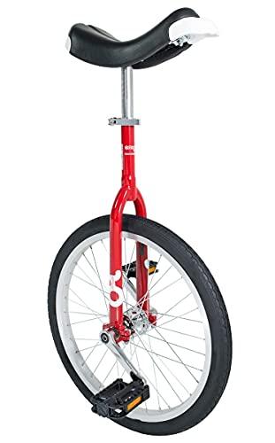 Einrad Qu-AX Monocycle 406 mm/2011 50,8 cm, Mixte, Rouge
