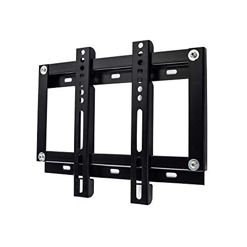 DWXN Rostfreier Stahl TV Halterung Schwenkbar für 14-32 Zoll LED, LCD, OLED, Plasma TVs,TV Eckschrank bis 35KG, Schwenkbar, Neigbar, Ausziehbar, Universal, Max VESA 235x235mm