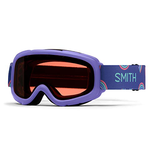 Smith Junior Gambler Kid's Snow Goggle (Thistle Happy Place   RC36)
