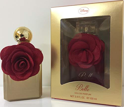 Princesas Bella y Bestia, Agua de perfume para mujeres - 100 ml.
