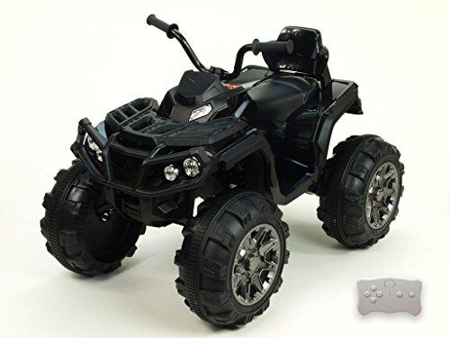 Kinderauto Kinderelektroauto Kinderelektrofahrzeug Kinder elektroauto quad 12V Elektroquad Predator schwarz