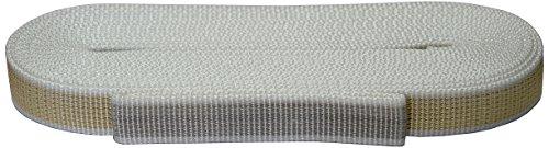 Corderie Italiane 006000013 Cintino per tapparelle, Colore Beige/Grigio, in Polipropilene, 22 mm, 5,5 mt