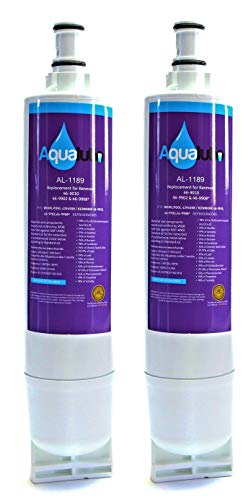 AquaLutio 4396508 Refrigerator Water Filter, Compatible with Whirlpool 4396508, 4396510, 4392857, Kenmore 46-9010, NLC240V, EveryDrop Filter 5, EDR5RXD1, PUR W10186668 (2)