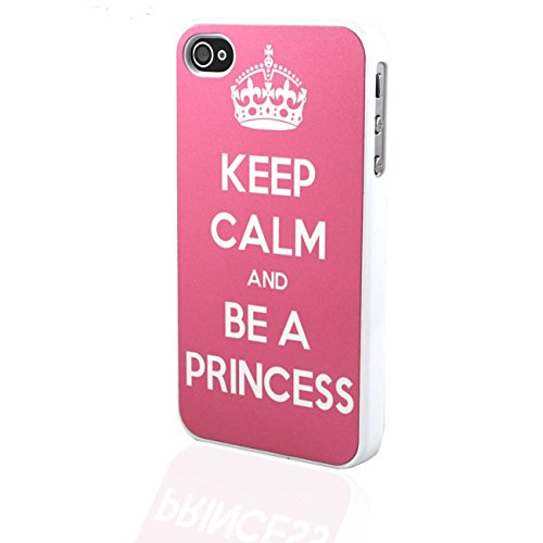 HÜLLE IPHONE4/4S KEEP CALM AND BE A PRINCESS