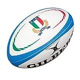 Italie - Mini Ballon de Rugby Réplique Officielle - Bleu - taille Mini