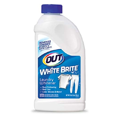 Out White Brite Laundry Whitener, 28 Ounces, Pack of 2