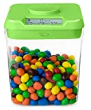 Kitchen Safe: Time Locking Container (Green Lid + Clear Base) - 5.5' Height