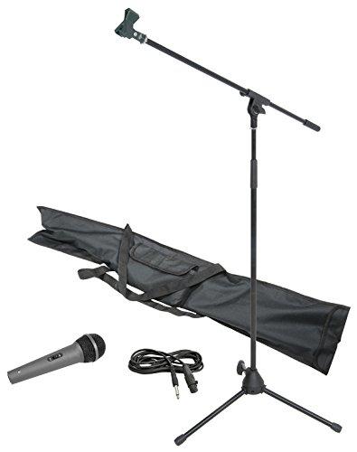 Chord MS06Kit de soporte de micrófono con micrófono, cable y bolsa de...