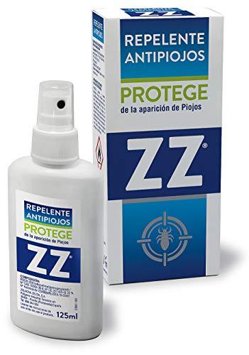 ZZ| Repelente Antipiojos| Elaborado a Base de IR3535| Protege Contra la Aparición de Piojos| Apto Para Toda la Familia |Para Todas las Edades | Contenido 125 ml
