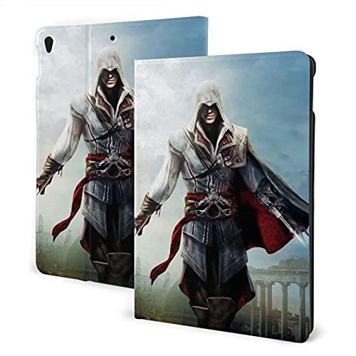 Assassins Creed Ezio Pad Pad Pad Pad 7th 10.2 pulgadas Pad Air3 cubierta Auto Wake/Sleep para Pad Pro 10.5 pulgadas PU cuero Shell Stand Smart Slim.Pad Air3 10.5 pulgadas