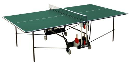 Sponeta - Mesa de ping pong (interior, 274 x 152,5 x 76 cm, plegable, 69 kg, tablero de 19...