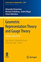 Geometric Representation Theory and Gauge Theory: Cetraro, Italy 2018 (Lecture Notes in Mathematics (2248))