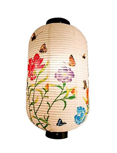 [Schmetterlinge] im chinesischen/japanischen Stil hängende Laterne dekorative Papierlaterne