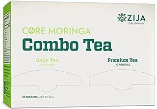 Zija International Core Moringa Combo Tea 30 Pouches
