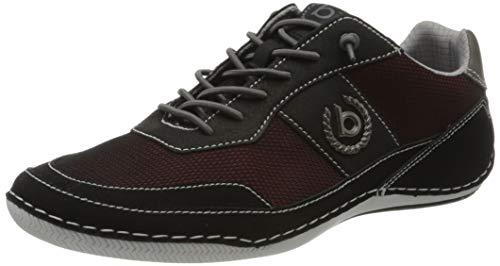 bugatti Herren 321480125400 Sneaker, Schwarz, 44 EU