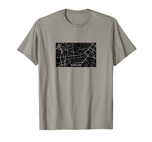 BERLIN // Stadtplan T-Shirt