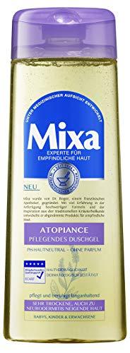 Mixa Atopiance verzorgende douchegel voor gevoelige, zeer droge en naar neurodermitis neigende huid, verpakking van 3 (3 x 250 ml)